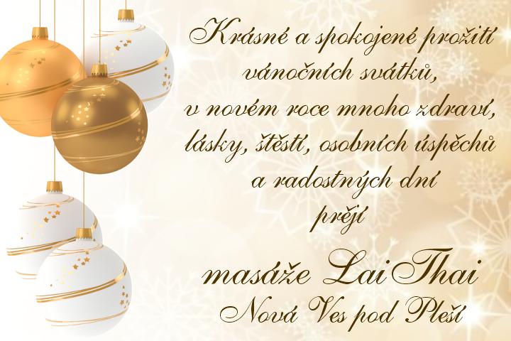 Novoroční přání LaiThai
