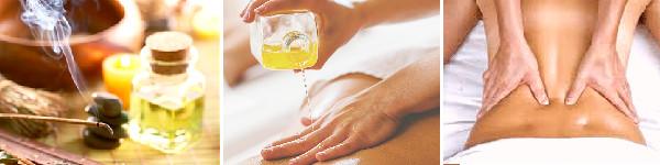 Objednávka olejové aroma masáže