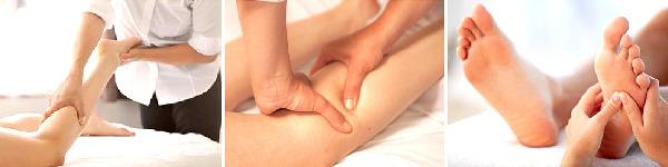 Objednávka masáže nohou